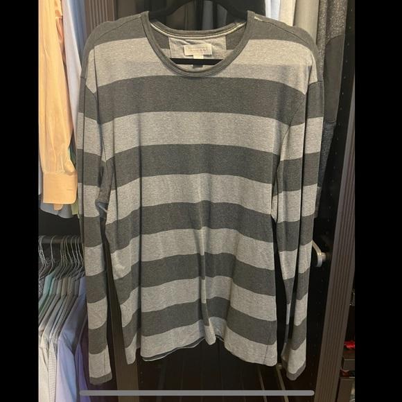 Banana Republic Striped Long Sleeve Shirt